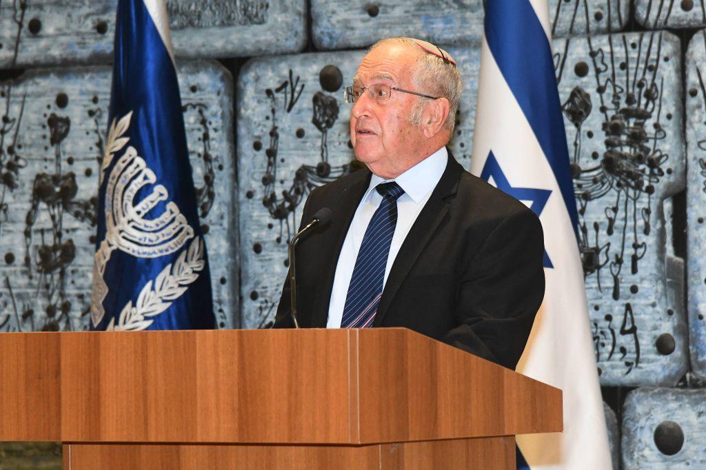 פרופ אליעזר רובינזון יור האגודה למלחמה בסרטן - צילום ישראל הדרי