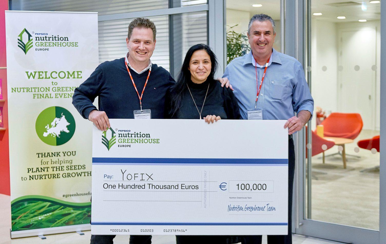 חברת  YOFIX  זכתה במקום הראשון בתחרות החדשנות