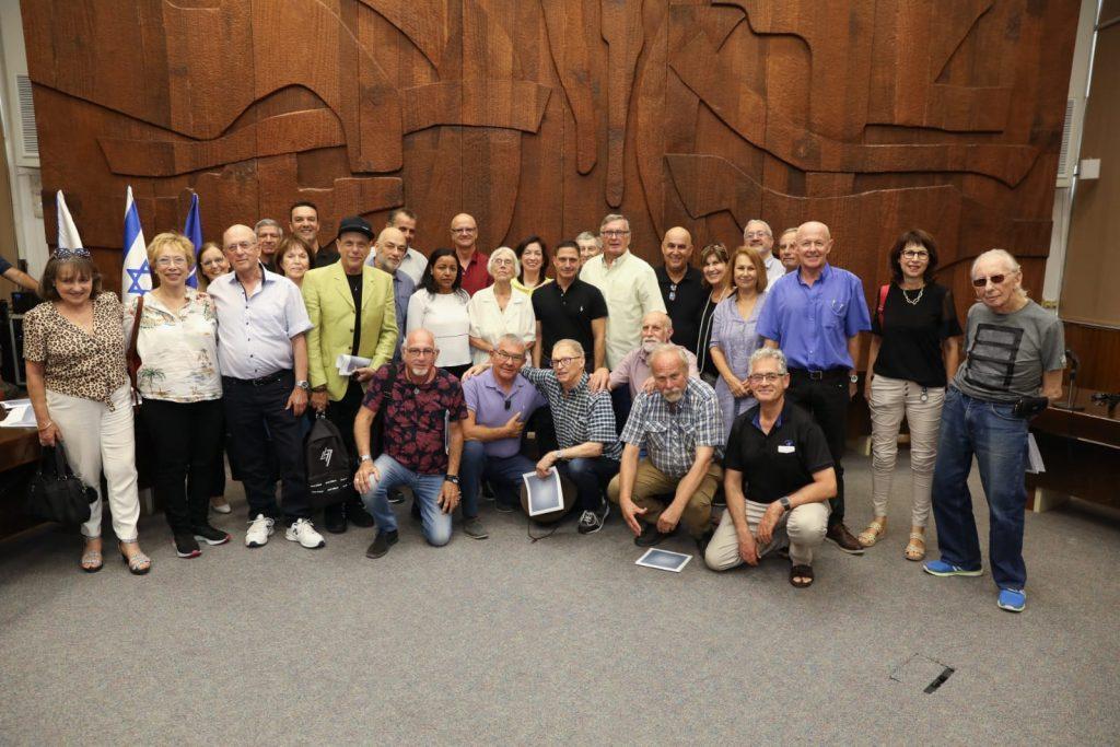 משלחת של מועצת העיתונות והתקשורת בישראל ביקרה בבאר שבע