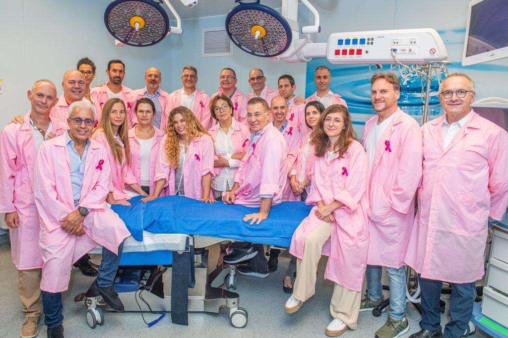 איתי סניור – רופאים בוורוד לרגל חודש המודעות לסרטן השד